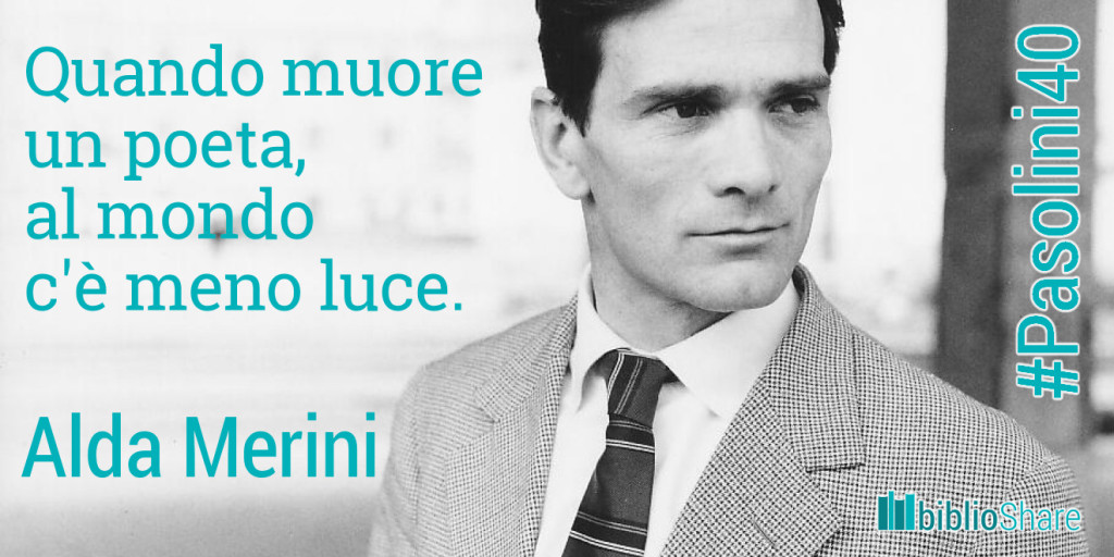 #AldaMerini #Pasolini40
