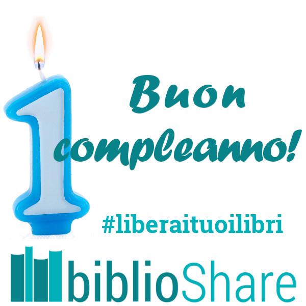 buon compleanno BiblioShare