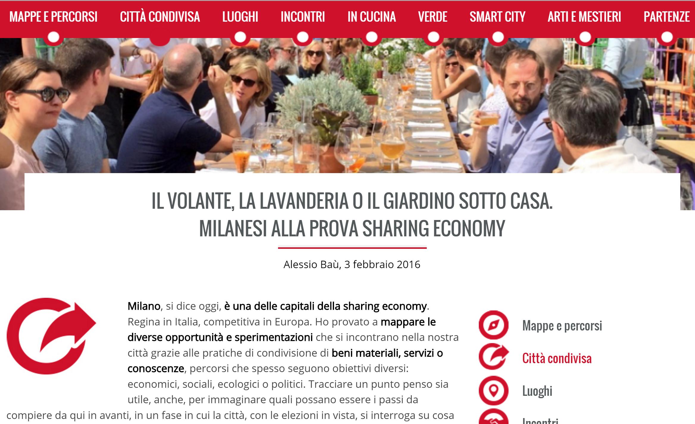 Social Milano parla di BiblioShare
