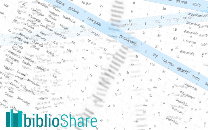 biblioShare: statistiche di 13 mesi