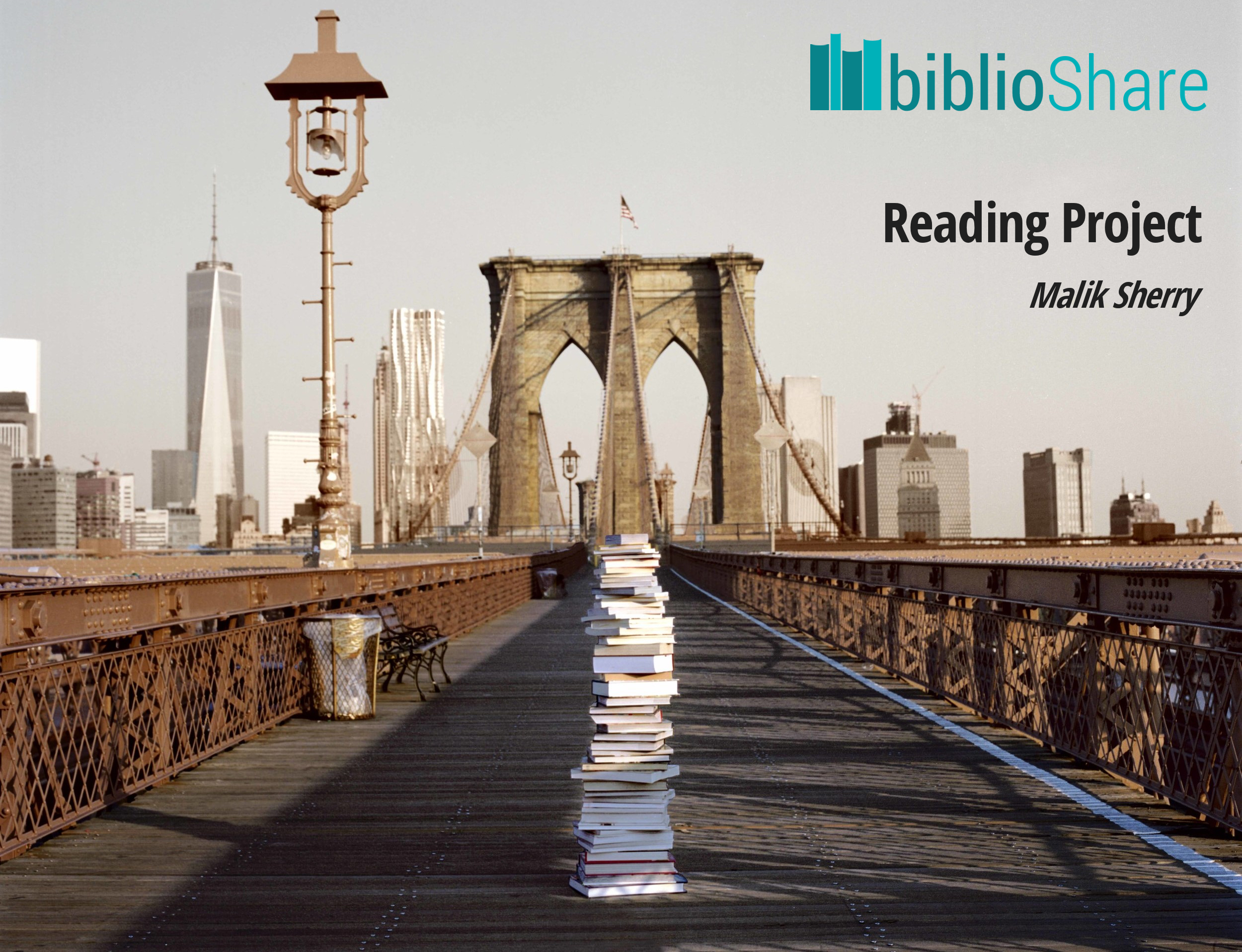 the Reading Project by Malik Sherry