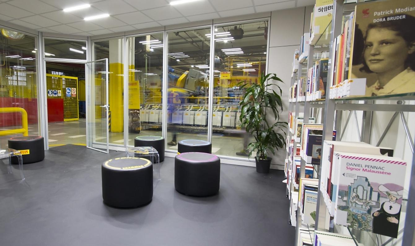 biblioteca Pirelli
