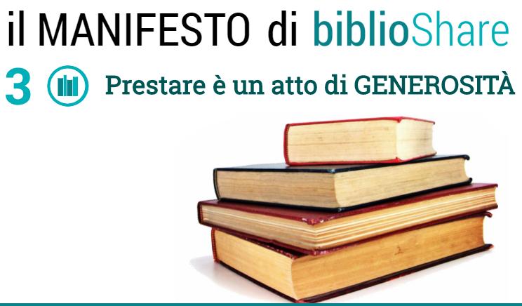 manifesto di biblioshare