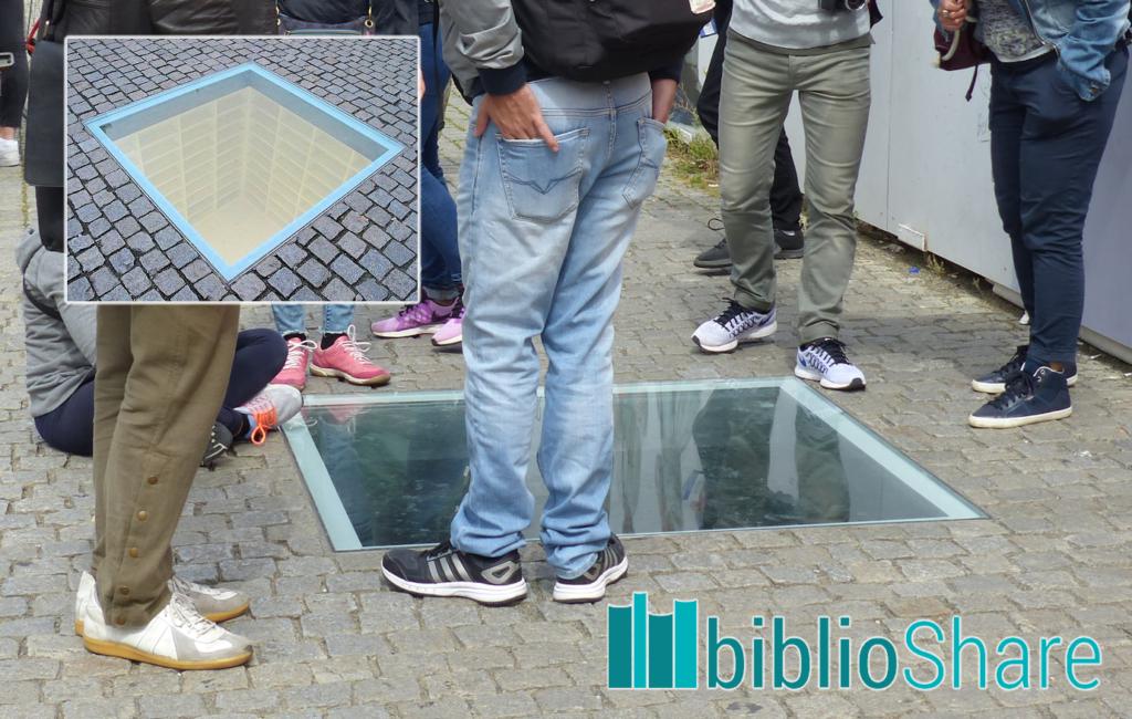 Berlino: memoriale al rogo dei libri