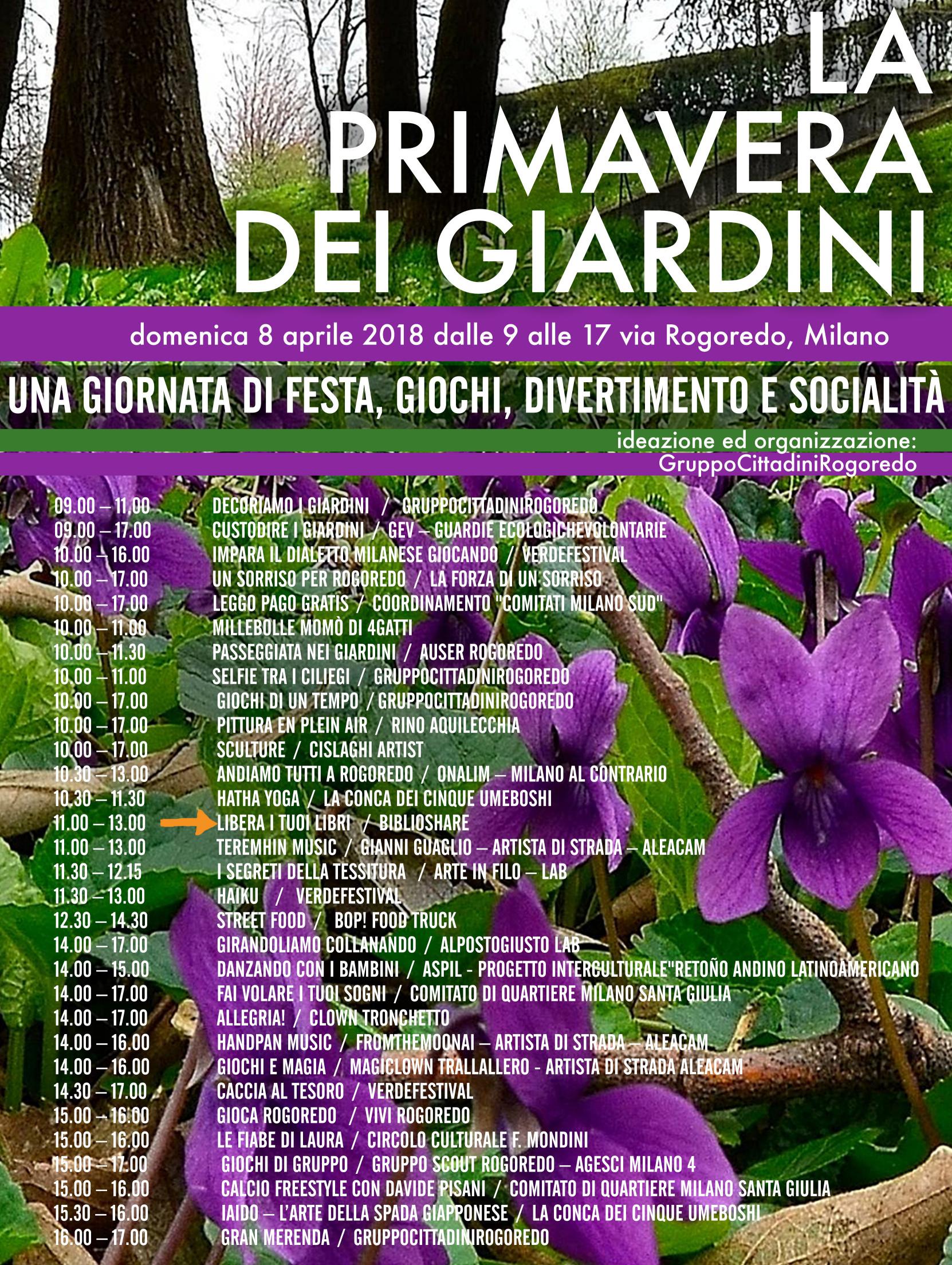 la Primavera dei Giardini 2018